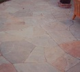 Full Color Irregular - Flagstone Patio