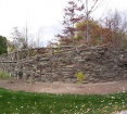 PA Fieldstone Wall & Cap