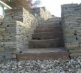 Colonial Wall Stone & Steppers