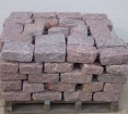 Belgium Blocks - Pink - Mini, Landscapers, Regulation, or Jumbo Sized | 1 1/2 Tons Per Pallet