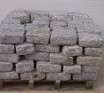 Belgium Blocks - Gray - Mini, Landscapers, Regulation, or Jumbo Sized | 1 1/2 Tons Per Pallet