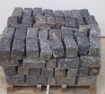 Belgium Blocks - Black - Mini, Landscapers, Regulation, or Jumbo Sized | 1 1/2 Tons Per Pallet