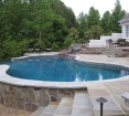 PA Fieldstone Veneer - PA Full Color Fieldstone Veneer and Flagstone Patio